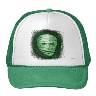 Halloween Mummy Hat Green