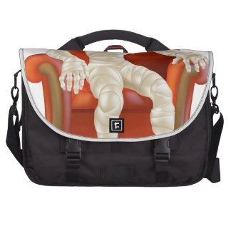 Halloween Mummy in Chair Commuter Bags