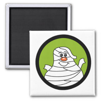 Halloween Mummy Tshirts and Gifts 2 Inch Square Magnet