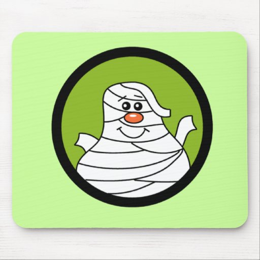 Halloween Mummy Tshirts and Gifts Mouse Pad