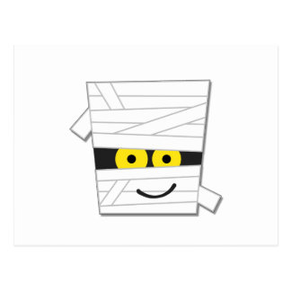 Halloween Mummy Tshirts and Gifts Postcard