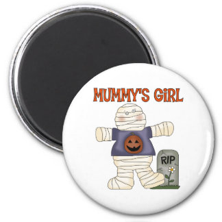 Halloween Mummy's Girl Magnet