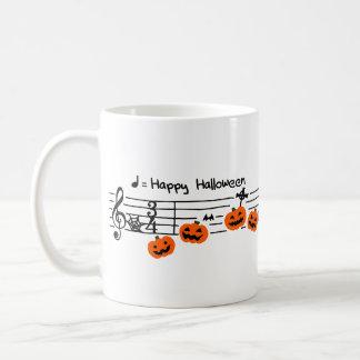 < Halloween musical score >Halloween Music score Coffee Mug
