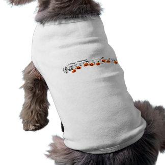 < Halloween musical score >Halloween Music score Doggie T-shirt