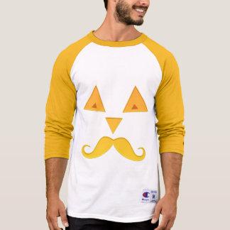 Halloween Mustache Pumpkin shirts & jackets
