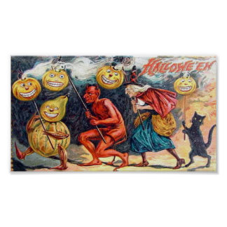 Halloween muy asustadizo posters