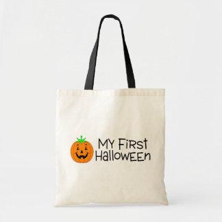 Halloween My First Halloween (Pumpkin) Budget Tote Bag