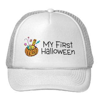 Halloween My First Halloween (Pumpkin Candy) Trucker Hat