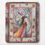 Halloween Mystic Witch by Molly Harrison Mouse Pad