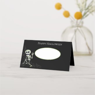 Halloween Name Place Cards