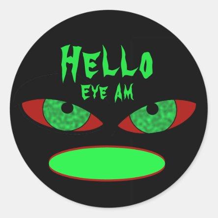 Halloween Name Tag