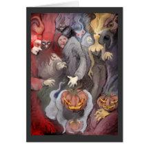 ** Halloween night ** Cards
