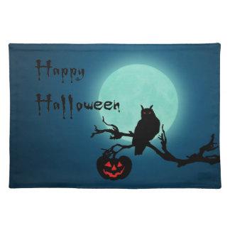 Halloween Night - Cloth Placemat