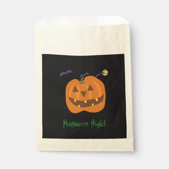 Halloween Night Favor Bag