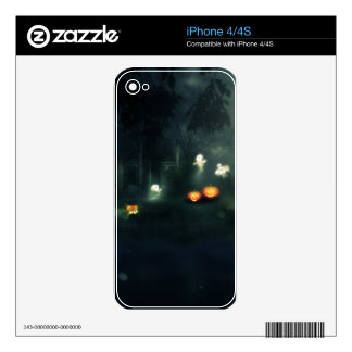 Halloween Night Gate2 Decals For iPhone 4S