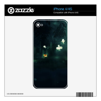 Halloween Night Gate Decal For The iPhone 4S