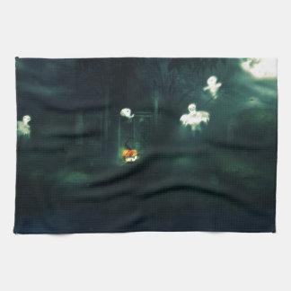 Halloween Night Gate Kitchen Towel
