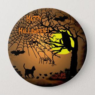 Halloween Night , Happy Halloween ! Pinback Button