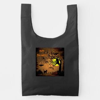 Halloween Night , Happy Halloween ! Reusable Bag