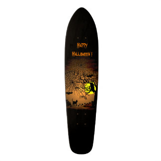 Halloween Night , Happy Halloween ! Skateboard