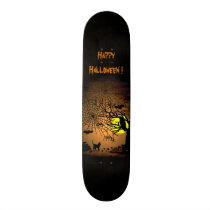 Halloween Night , Happy Halloween ! Skateboard Deck