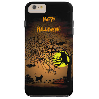 Halloween Night , Happy Halloween! Tough iPhone 6 Plus Case
