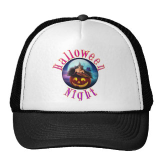 Halloween Night Mesh Hat