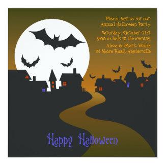 Halloween Night Invitation