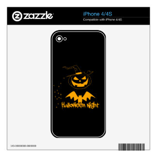 Halloween night iPhone 4 skin