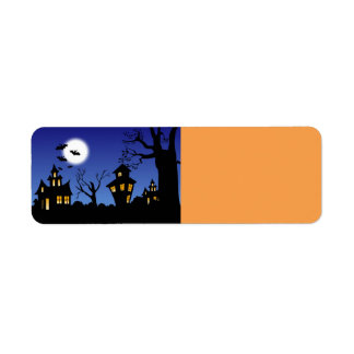 Halloween Night Label