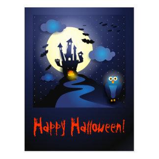 Halloween Night, postcard