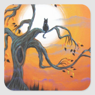 Halloween Night Products Square Sticker