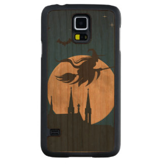 Halloween Night Scene Carved® Cherry Galaxy S5 Slim Case