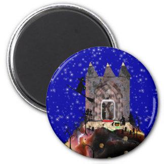 """Halloween Night Supper spell""* 2 Inch Round Magnet"