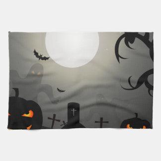 Halloween night towels