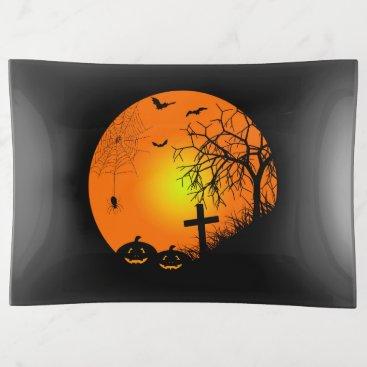 Halloween Themed Halloween night trinket trays