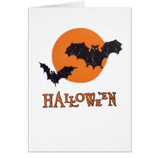 Halloween Night (Vintage Halloween Card) Greeting Card