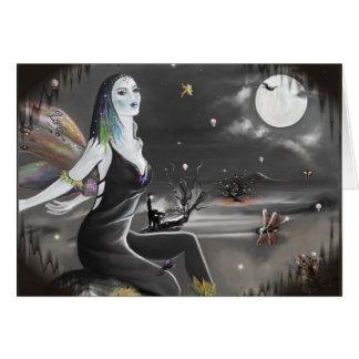 Halloween Night Wings  (card) Card