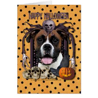 Halloween Nightmare - Boxer - Vindy Card