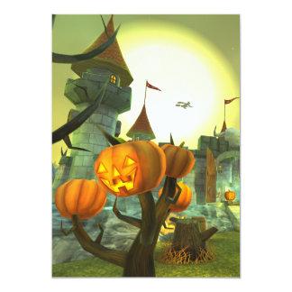 Halloween nightmare card