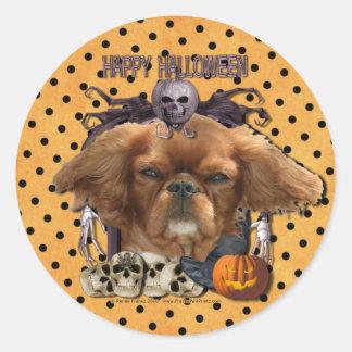 Halloween Nightmare - Cavalier - Ruby Stickers
