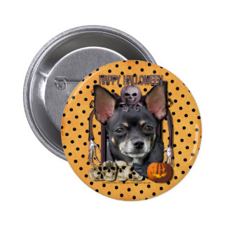 Halloween Nightmare - Chihuahua - Isabella 2 Inch Round Button