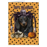 Halloween Nightmare - Dachshund - Winston Card