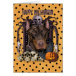 Halloween Nightmare - Doberman - Rocky Cards