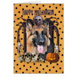 Halloween Nightmare - German Shepherd - Chance Card
