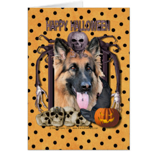 Halloween Nightmare - German Shepherd - Chance Card