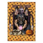 Halloween Nightmare - German Shepherd - Kuno Card