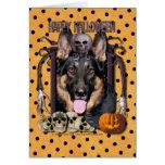 Halloween Nightmare - German Shepherd - Kuno Cards