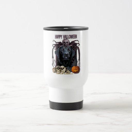 Halloween Nightmare - Labrador - Black - Gage 15 Oz Stainless Steel Travel Mug