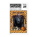 Halloween Nightmare - Labrador - Black - Gage Postage